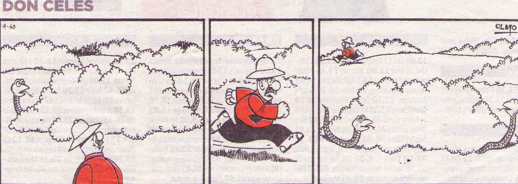 Don Celes y la enorme serpiente