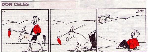 Don Celes el burro y la zanahoria