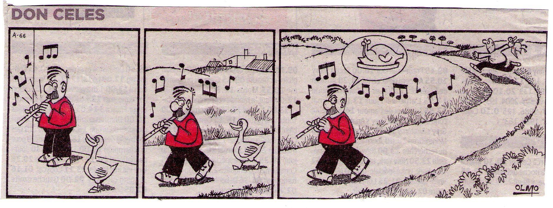 Don Celes el encantador de patos parte 2