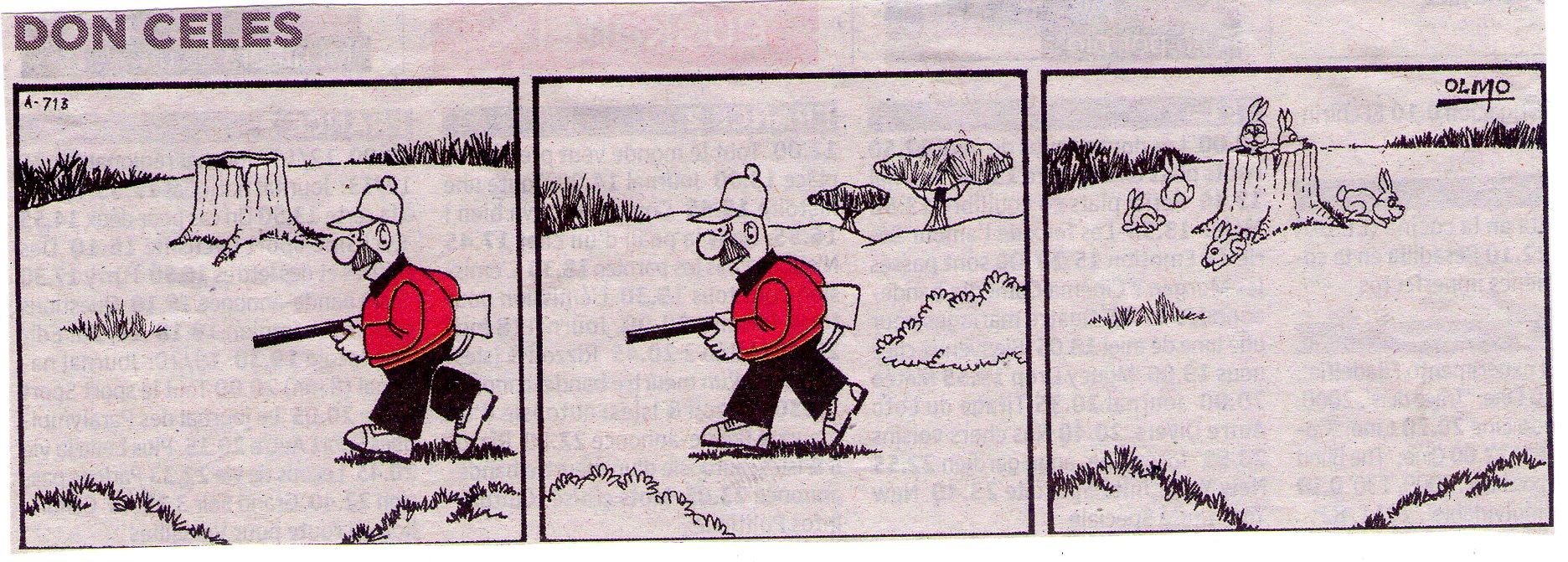 Don Celes y los conejos inteligentes