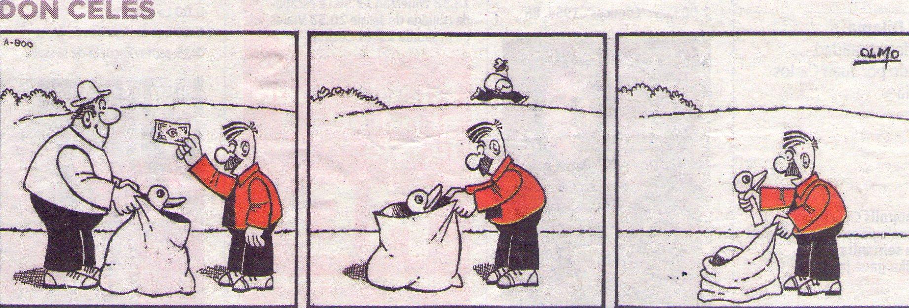 Don Celes y el timo del pato