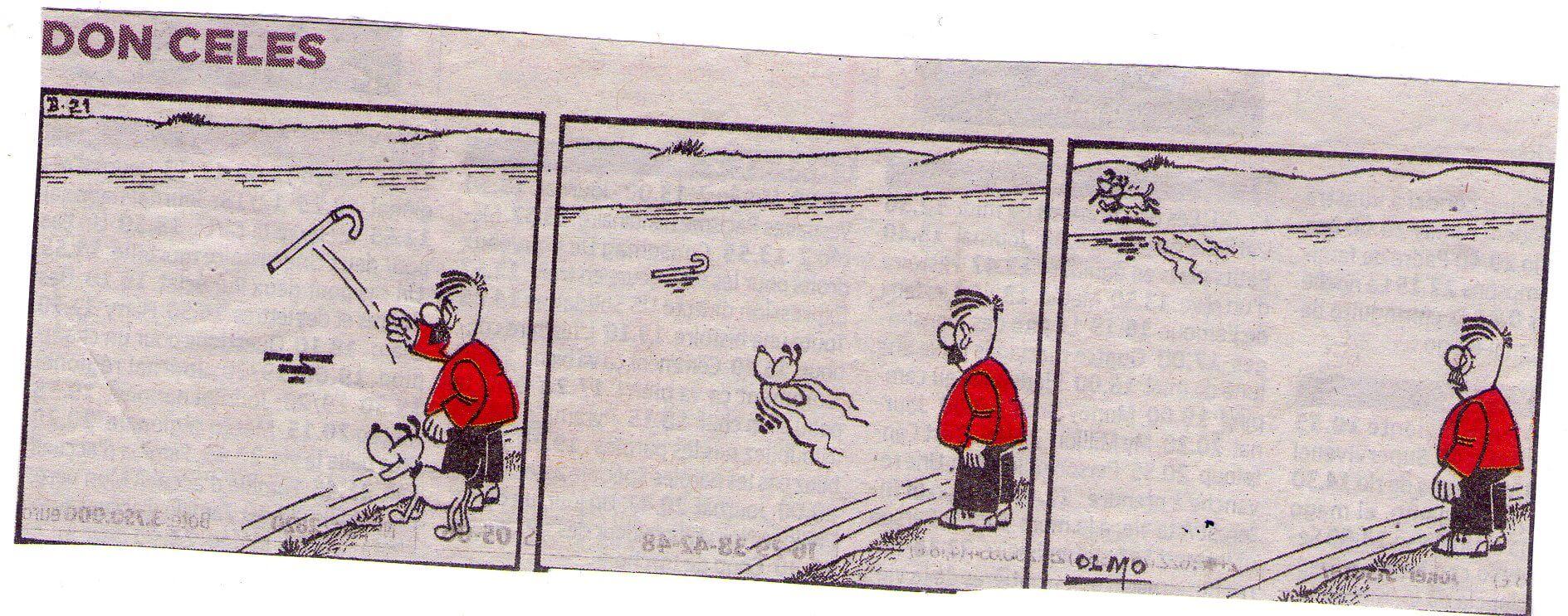 Don Celes a su perro: ¡Busca el palo!