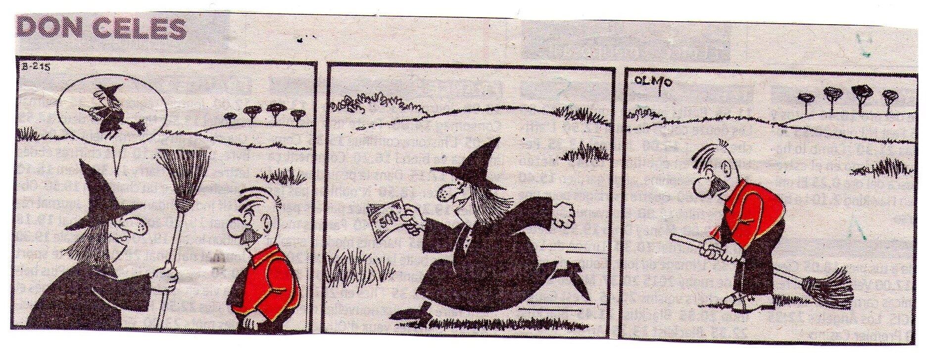 Don Celes timado por una bruja