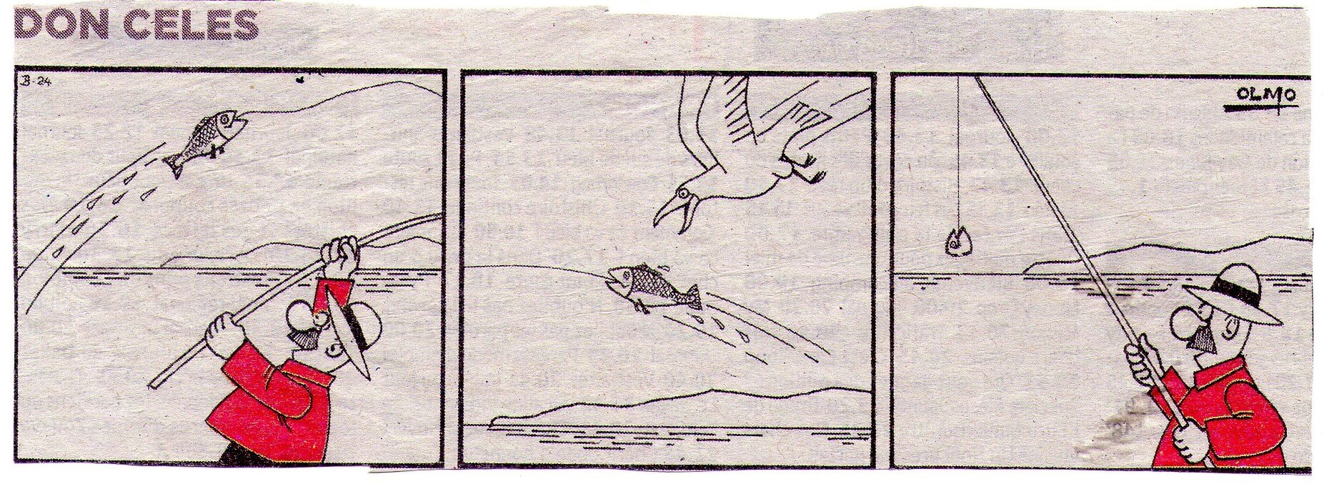 Don Celes pescando