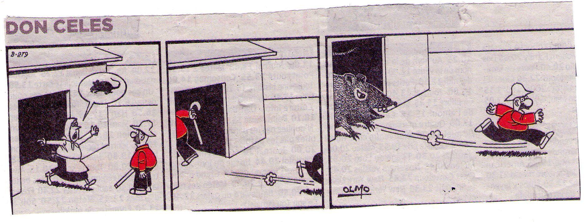 Don Celes y el enorme ratón