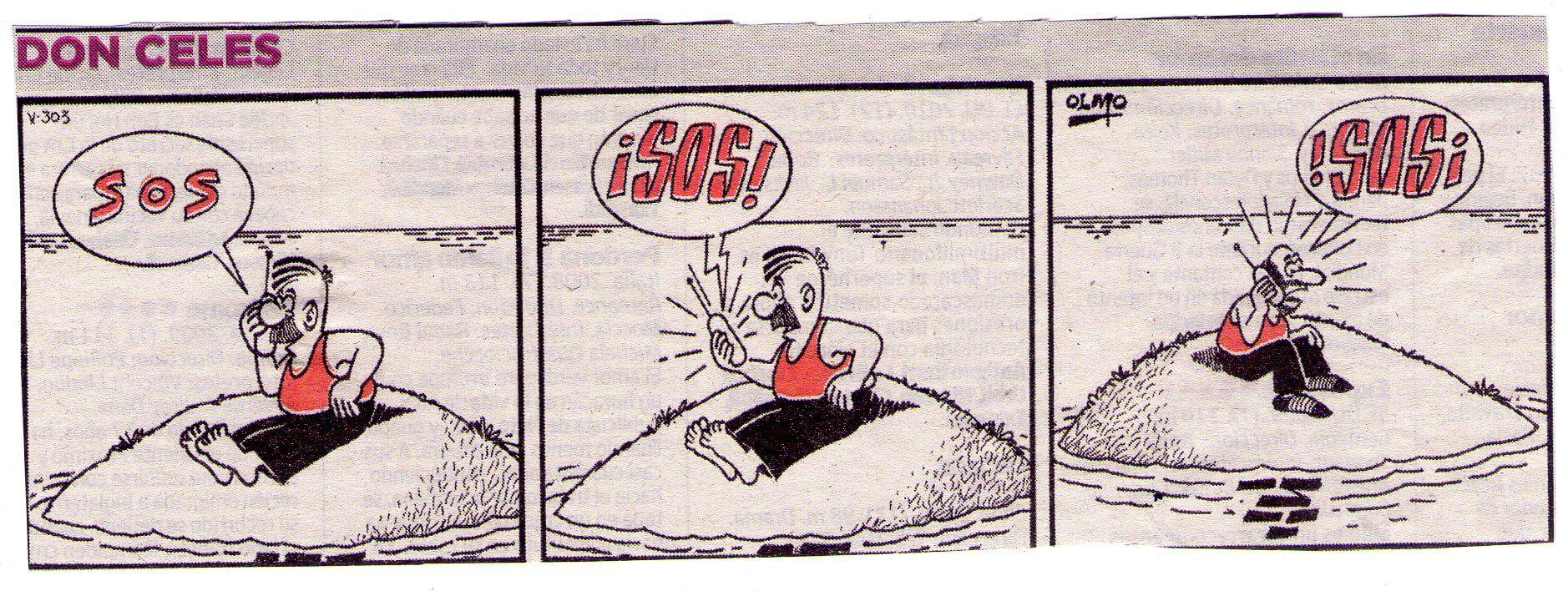 Don Celes: ¡SOS!