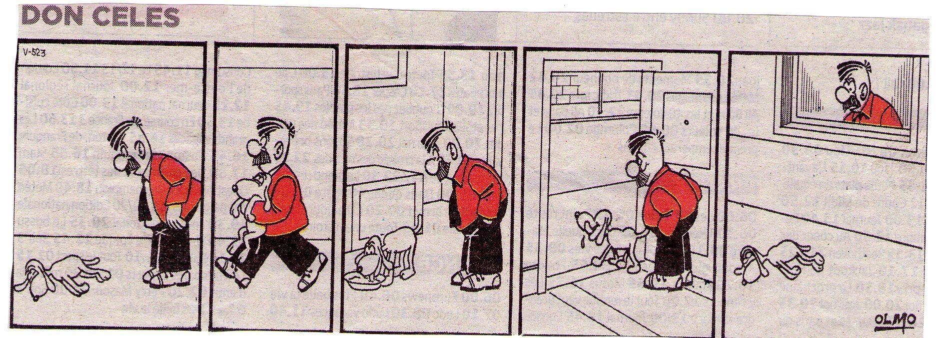Don Celes y el perro listo