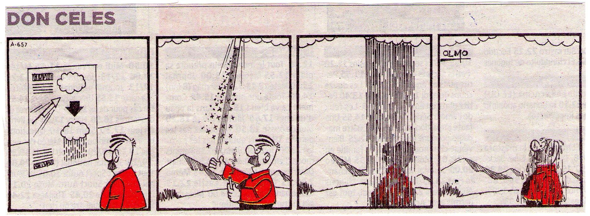 Don Celes consigue que llueva