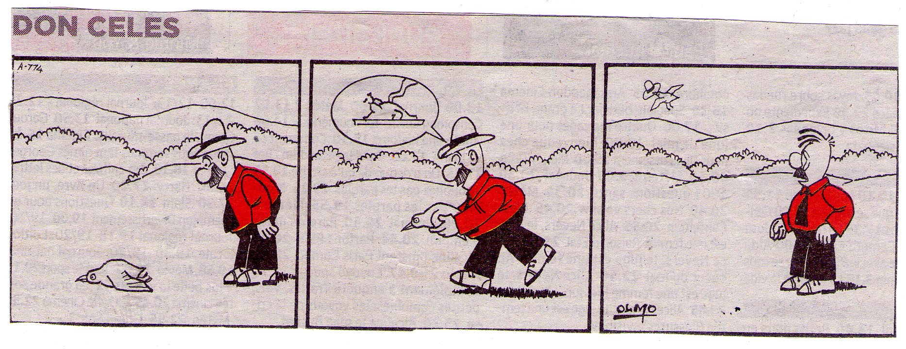 Le roban el sombrero a Don Celes