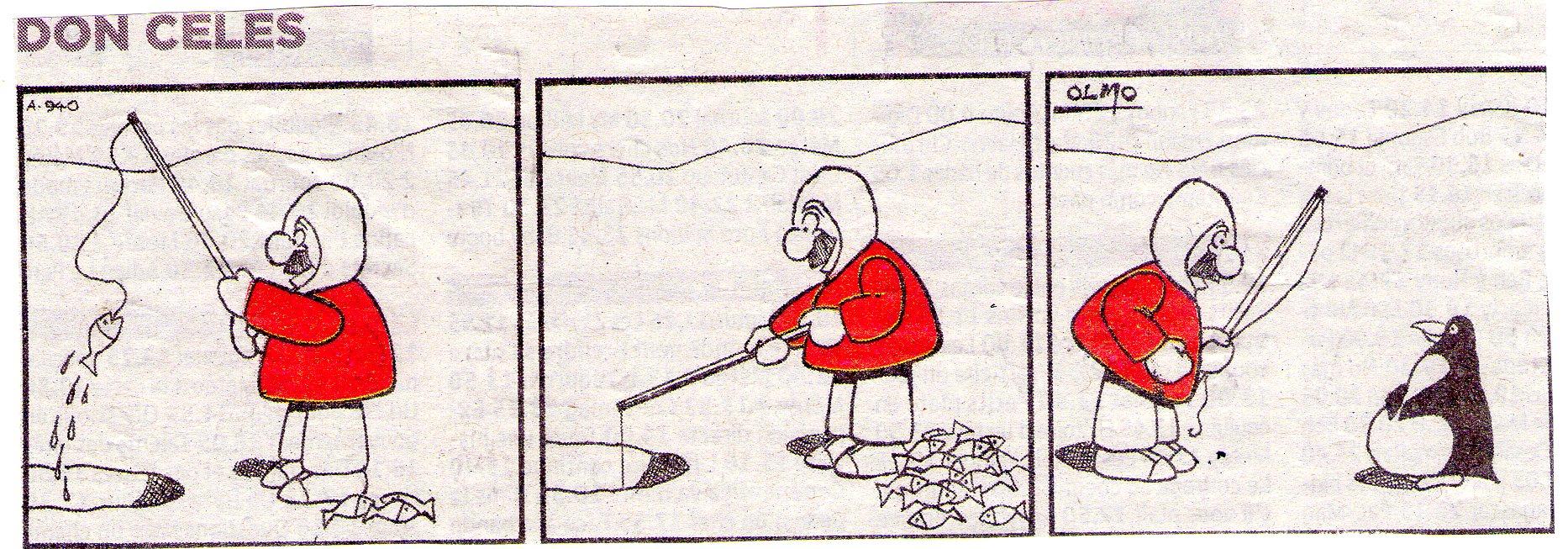 Don Celes y el pingüino gordo