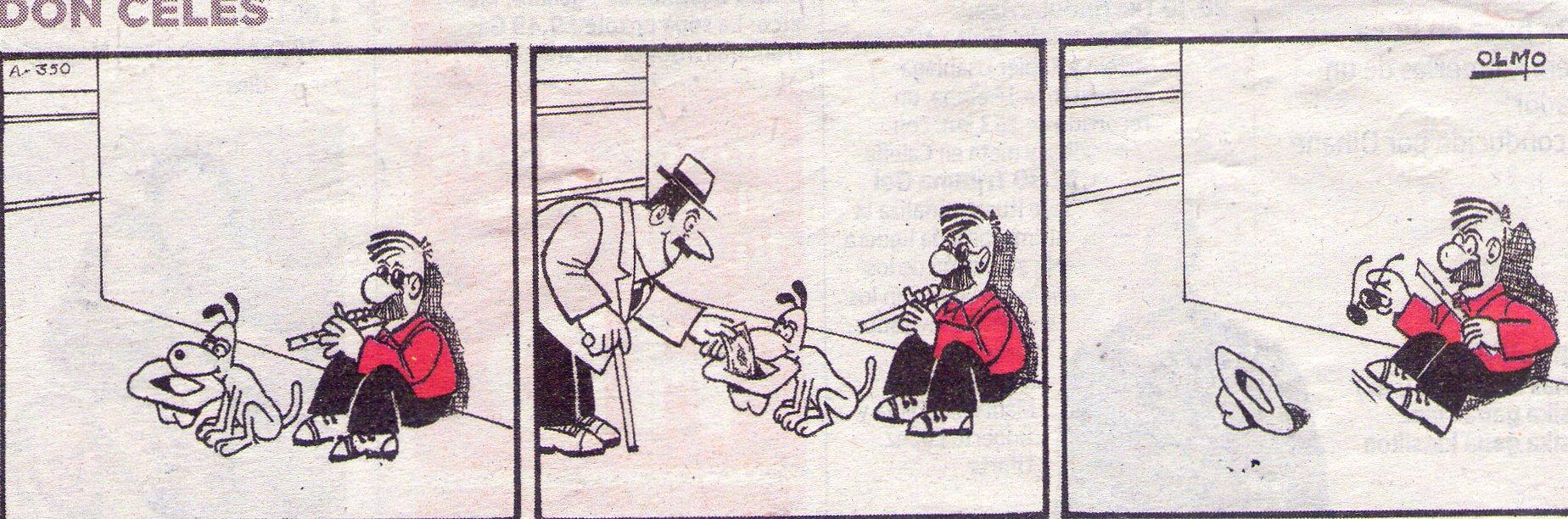 Don Celes intenta engañar pero el perro es mas listo