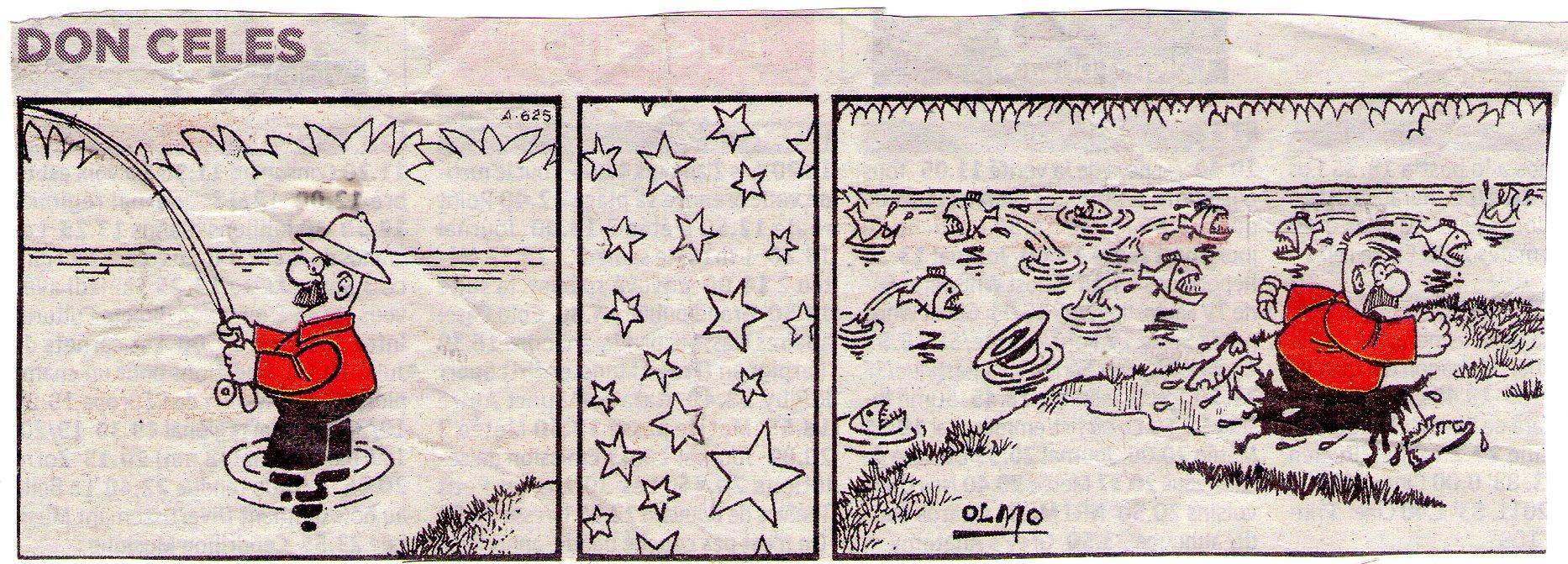 Don Celes pesca pirañas
