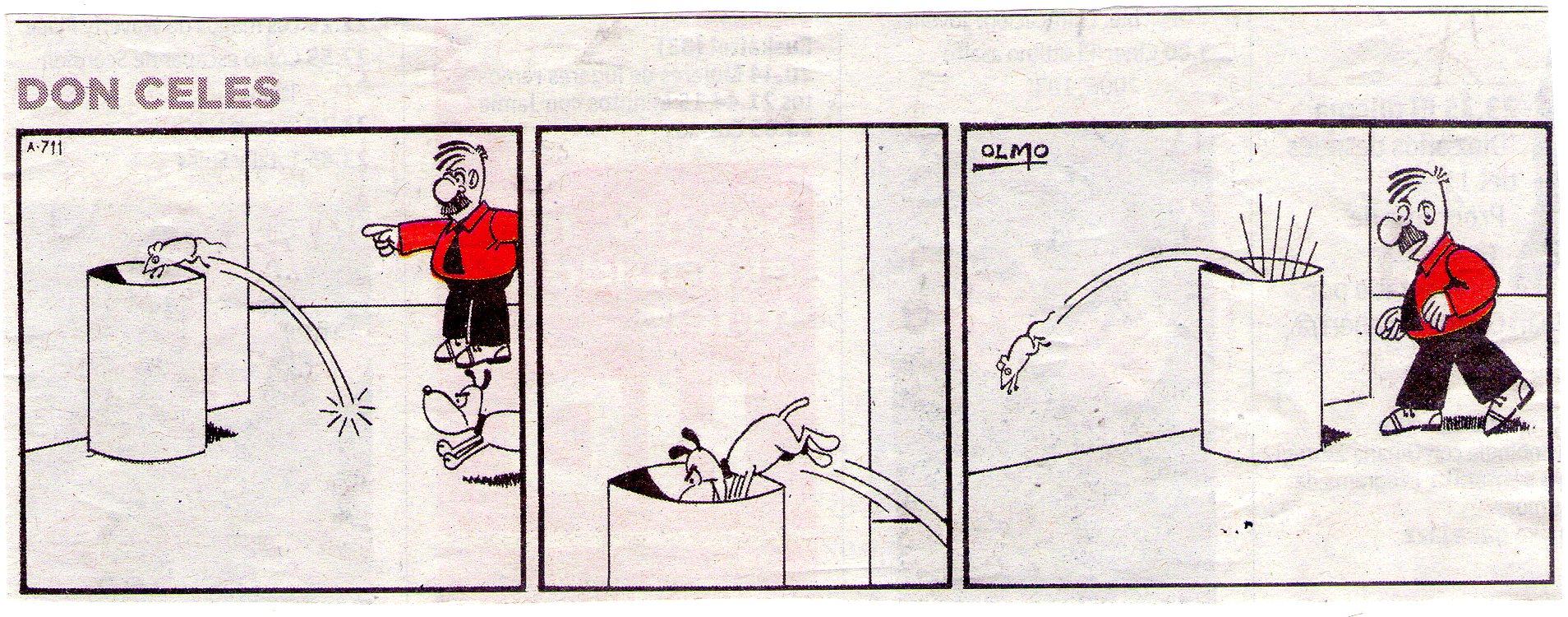 El ratón mas listo que el perro